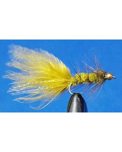 Wolly Bugger Oliv BH #8, 12st