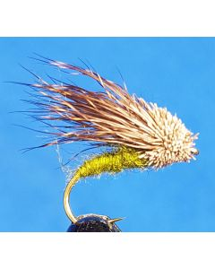 Streaking Caddis Oliv #12, 12st